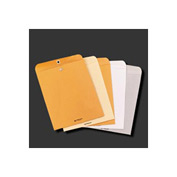 Clasp Envelopes, Kraft, 28-lb., 6 x 9, 100/Box