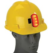 Hard Hat Safety Light, ERB Safety 10031 - Red