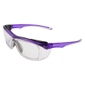 ERB® Susan Safety Glasses, Purple Frame, Clear Lens, 15350 - Pkg Qty 12