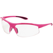 ERB™ 18618 Ella Sleek Ladies Eyewear, Pink Frame, Clear Lens - Pkg Qty 12