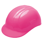 ERB® Vented Bump Cap, 4-Point Suspension, Hi-Viz Pink, 19115 - Pkg Qty 12