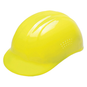 ERB® Vented Bump Cap, 4-Point Suspension, Hi-Viz Yellow, 19117 - Pkg Qty 12