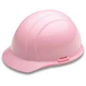 ERB™ 19775 Americana Hard Hat, 4-Point Ratchet Suspension, Light Pink - Pkg Qty 12