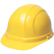 ERB™ 20002, Omega 360, Hard Hat, 4-Point Ratchet Suspension Yellow - Pkg Qty 12