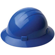 ERB™ 20006, Americana 360 Hard Hat, 4-Point Ratchet Suspension Blue - Pkg Qty 12