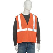 Aware Wear® ANSI Class 2 Economy Mesh Vest, 61435 - Orange, Size XL