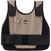 Ergodyne® Chill-Its® 6225 Phase Cooling Vest Only, Khaki, S/M