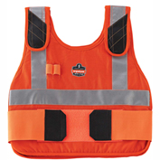 Ergodyne® Chill-Its® 6215HV Phase Change Cooling Vest, Orange, S/M