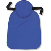 Ergodyne® Chill-Its® 6717 Cooling Hard Hat Pad W/ Neck Shade, Solid Blue, One Size