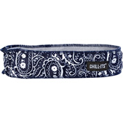 Ergodyne® Chill-Its® 6605 High-Performance Headband, Navy Western, One Size - Pkg Qty 6