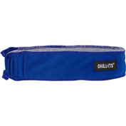 Ergodyne® Chill-Its® 6605 High-Performance Headband, Blue, One Size - Pkg Qty 6