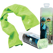 Ergodyne® Chill-Its® 6602 Evaporative Cooling Towel, Hi-Vis Lime