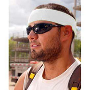 Ergodyne® Chill-Its® 6550 Head Sweatband, White, One Size - Pkg Qty 24