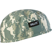 Ergodyne® Chill-Its® 6630 High-Performance Cap, Camo, One Size - Pkg Qty 6