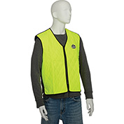 Ergodyne® Chill-Its® 6665 Evaporative Cooling Vest, Lime, Large