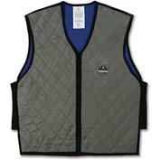 Ergodyne® Chill-Its® 6665 Evaporative Cooling Vest, Gray, Large