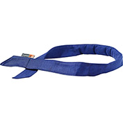 Ergodyne® Chill-Its® 6705FR Evaporative FR Cooling Bandana, Hook & Loop, Blue - Pkg Qty 6