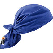 Ergodyne® Chill-Its® 6710FR Evaporative FR Cooling Triangle Hat, Blue - Pkg Qty 6