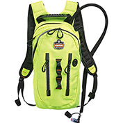 Ergodyne® Chill-Its® 5157 Premium Cargo Hydration Pack, Hi-Vis Lime, 2 Liter