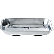 "Arsenal® 5920 Magnetic Tray Organizer - Rectangle, 5-1/2""x9-1/2"", Stainless"