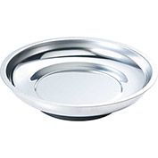 """Arsenal® 5925 Magnetic Tray Organizer - Round, 6"""", Stainless"""