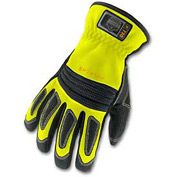Ergodyne® ProFlex® 730 Fire & Rescue Performance Gloves, Lime, Large
