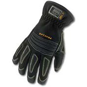 Ergodyne® ProFlex® 730 Fire & Rescue Performance Gloves, Black, Medium