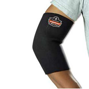 Ergodyne® 650 Neoprene Elbow Sleeve, Black, XL