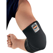 Ergodyne® Proflex® 655 Neoprene Elbow Sleeve with Strap, Black, XL