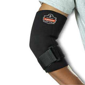 Ergodyne® 655 Neoprene Elbow Sleeve with Strap, Black, 2XL