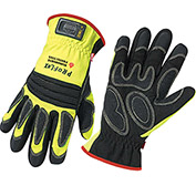 Ergodyne® ProFlex® 730OD Fire & Rescue Performance Gloves W/OutDry® BBP, Lime, L