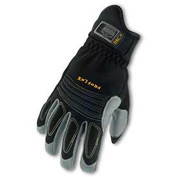Ergodyne® ProFlex® 740 Fire & Rescue Rope Gloves, Black, Large