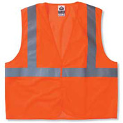 Ergodyne® GloWear® 8205HL Class 2 Super Econo Vest, Orange, L/XL