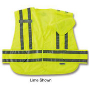 Ergodyne® GloWear® 8244PSV Expandable Public Safety Vest, Orange, M/L