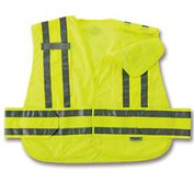 Ergodyne® GloWear® 8244PSV Expandable Public Safety Vest, Lime, 3XL+