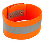 Ergodyne® GloWear® 8001 Arm/Leg Band, Orange, L/XL - Pkg Qty 12