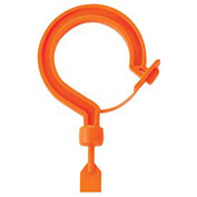 "Ergodyne® Squids® 3540M Tie Hook, Large Locking Hook, Orange, 15.8"" Belt Length - Pkg Qty 6"