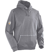 Ergodyne CORE Performance Work Wear® 7440 FR Outer Layer Pullover Hooded Sweatshirt, Gray, 2XL