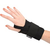 Ergodyne® ProFlex® 4000 Single Strap Wrist Support, Black, Large, Right