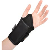 Ergodyne® ProFlex® 4000 Single Strap Wrist Support, Black, Medium, Left