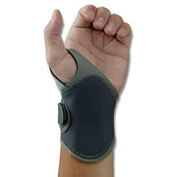 Ergodyne® ProFlex® 4020 Wrist Support, Gray, L/XL, Right