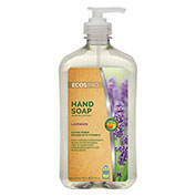 Earth Friendly Products Lavender Handsoap, 17 oz. Hand Pump Bottle 6/Case - PL9665/06