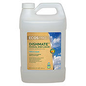 Earth Friendly Products Dishmate Dishwashing Liquid, Free & Clear Gallon Bottle 4/Case - PL9721/04