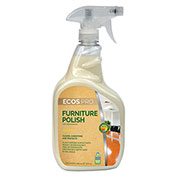 Earth Friendly Products Furniture Polish, 32 oz. Trigger Bottle 6/Case - PL9731/6