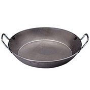 "De Buyer 511336 - Paella Pan, Steel, 14-1/8"" Dia. x 2""H"