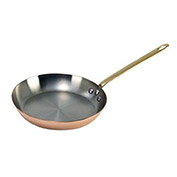 "De Buyer 6450.26 - Frying Pan, Round, Copper, 10-1/4"" Dia."