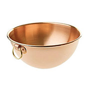 "De Buyer 6580.35 - Bowl For Egg Whites, Copper, 13-3/4"" Dia."