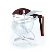 Silikomart ACC086 Chocolate & Batter Dispenser, 27 Oz. Cap., 3 Assorted Tips, 5-1/2