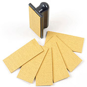 Krampouz ATG6 - Rectangular Cleaning Pad Replacement Felt Pads For Crepe Machines, 6 Pack
