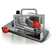 "Tellier CTX - Tomato Slicer Stainless Steel, Protective Housing 8""L x 19""W x 11""H"